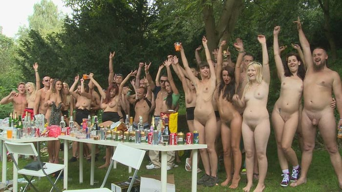 Czech Garden Party 4 Part 1 - Drunk, naked and ready to roll