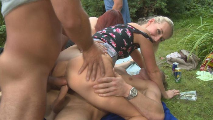 Czech Garden Party 2 Part 3 - Horny and stunning Czech girls